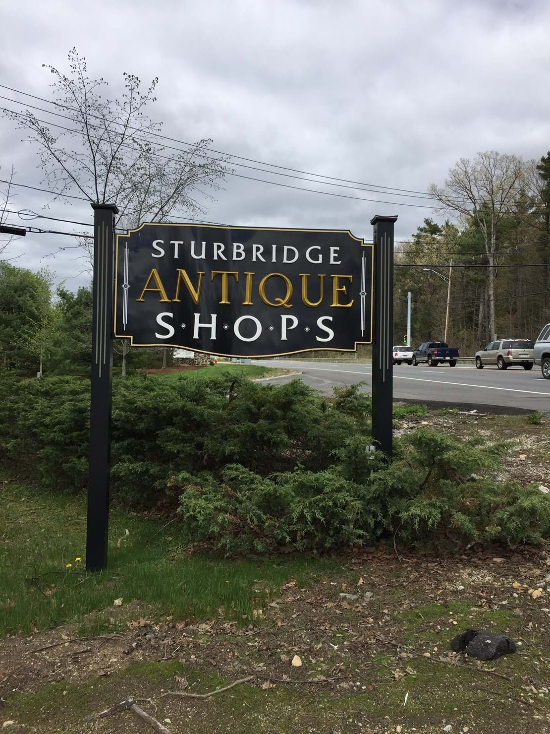 A local, beautiful antique store.