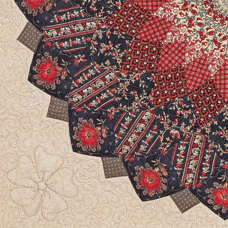 Giant Dahlia Pattern - Michelle Yeo Quilt Designs